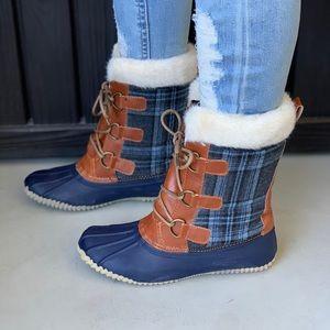 Winter Wonderland Duck Boots